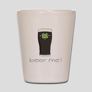 Beer Me Shot Glass