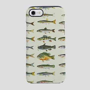 Freshwater Fish Chart iPhone 7 Tough Case