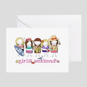 Girls getaway weekend greeting cards cafepress girls weekend greeting card m4hsunfo