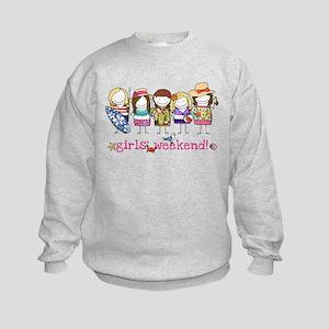 Girls' Weekend Kids Sweatshirt