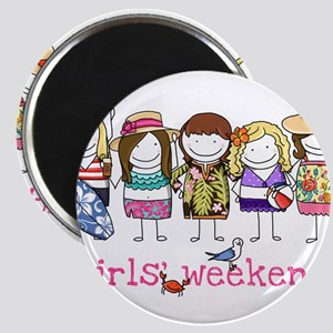 Girls' Weekend Magnet