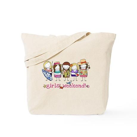 Girls' Weekend Tote Bag