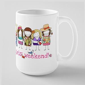 Girls' Weekend Large Mug