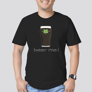 Beer Me Men's Fitted T-Shirt (dark)