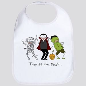 Monster Mash - Halloween Bib