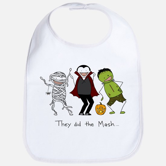 Monster Mash - Halloween Bib