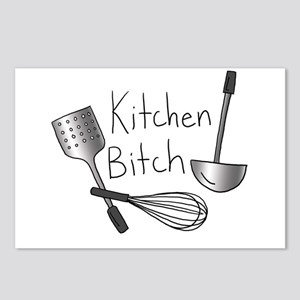 Kitchen Bitch Postcards (Package of 8)