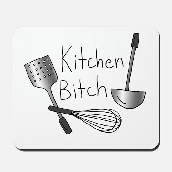 Kitchen Bitch Mousepad