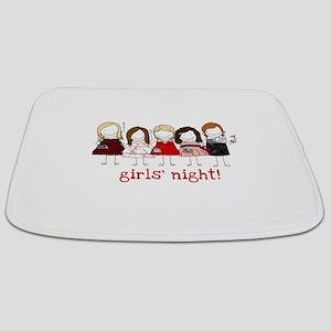 Girls Night Bathmat