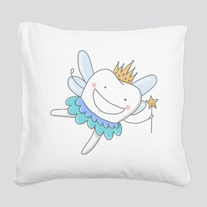 Tooth Fairy Square Canvas Pillow