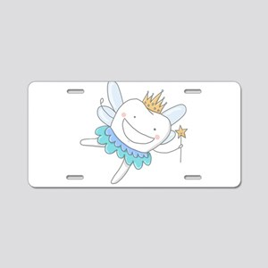 Tooth Fairy Aluminum License Plate