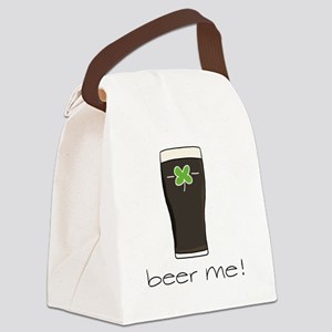 Beer Me Canvas Lunch Bag