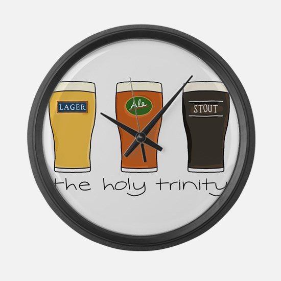The Holy Trinity Large Wall Clock