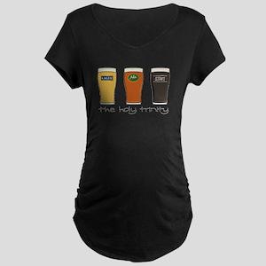 The Holy Trinity Maternity Dark T-Shirt