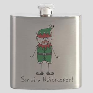 Son of a Nutcracker Flask