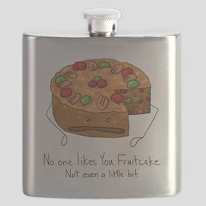 No One Likes Fruitcake Flask