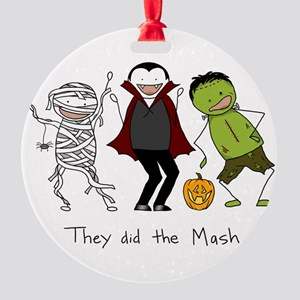 They did the Mash Round Ornament