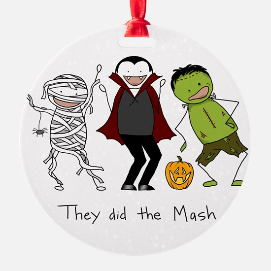 They did the Mash Ornament