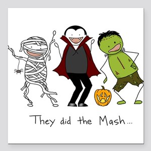 """They did the Mash Square Car Magnet 3"""" x 3"""""""