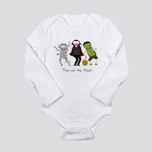 They did the Mash Long Sleeve Infant Bodysuit