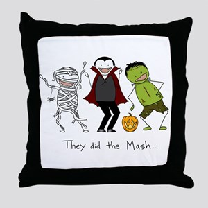 They did the Mash Throw Pillow
