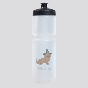 Halloween Wiener Dog Sports Bottle