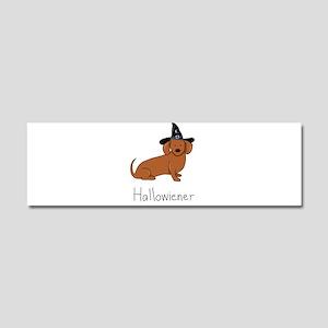 Halloween Wiener Dog Car Magnet 10 x 3