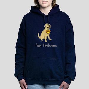 Howl-o-ween Dog Women's Hooded Sweatshirt