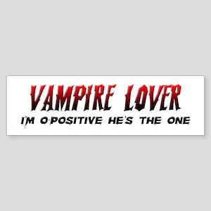 Vampire Lover Sticker (Bumper)