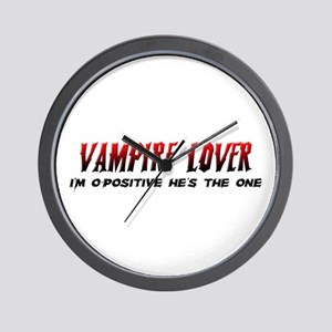 Vampire Lover Wall Clock