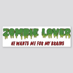 Zombie Lover - Sticker (Bumper)