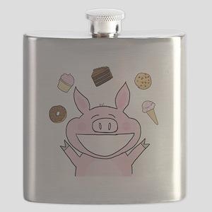 Dessert Pig Flask