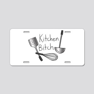 Kitchen Bitch Aluminum License Plate
