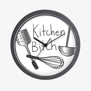Kitchen Bitch Wall Clock
