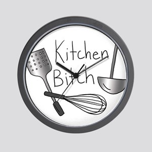 Kitchen Bitch Wall Clock
