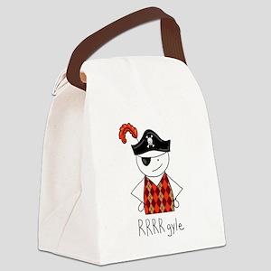 RRRR-gyle Pirate Canvas Lunch Bag