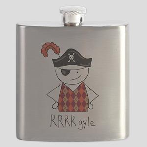 RRRR-gyle Pirate Flask