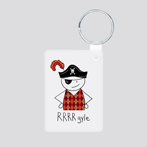 RRRR-gyle Pirate Aluminum Photo Keychain