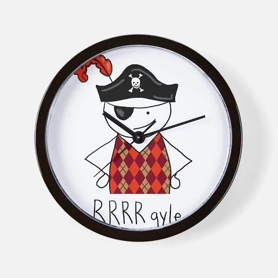 RRRR-gyle Pirate Wall Clock