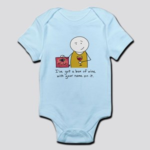 wine Infant Bodysuit
