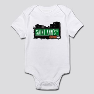 Saint Ann's Pl, Bronx, NYC  Infant Bodysuit