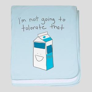 Lactose Intolerance baby blanket