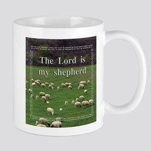 The Lord Is My Sheperd - Option 1 Mugs