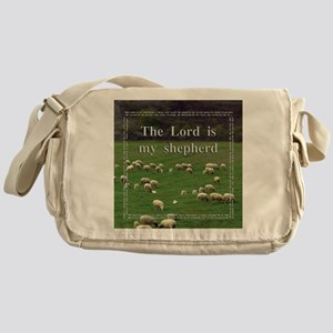 The Lord is My Sheperd - Option 1 Messenger Bag