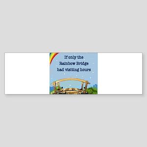 Rainbow Bridge Bumper Sticker