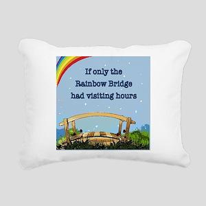 Rainbow Bridge Rectangular Canvas Pillow