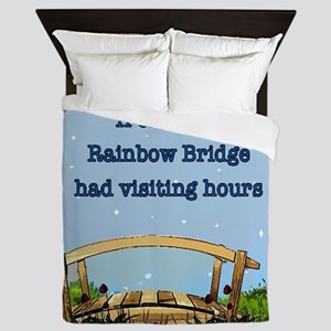 Rainbow Bridge Queen Duvet