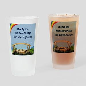 Rainbow Bridge Drinking Glass
