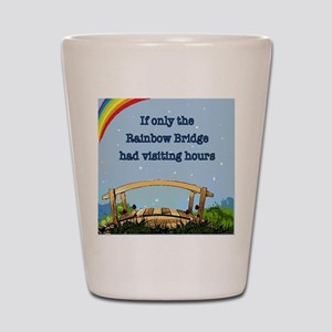 Rainbow Bridge Shot Glass