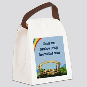 Rainbow Bridge Canvas Lunch Bag